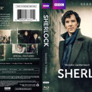 Sherlock: Season – 3 (2014) R1 Custom Blu-Ray Cover