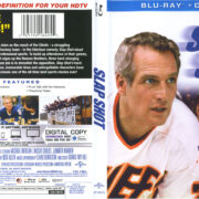 Slap Shot (1977) R1 Blu-Ray Cover & Label