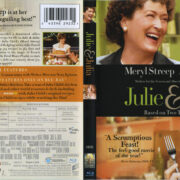 Julie & Julia (2009) R1 Blu-Ray Cover & Label
