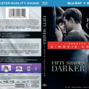 Fifty Shades: 2-Movie Collection (2015-2017) R1 Blu-Ray Cover