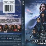 Star Wars: Rogue One (2016) R1 Blu-Ray Cover & Labels