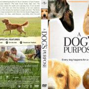 A Dog's Purpose (2017) R1 Custom V3 Cover & Label