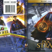 Doctor Strange (2016) R1 Blu-Ray Cover & Labels