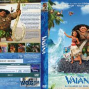 Vaiana (2016) R2 GERMAN Custom DVD Cover