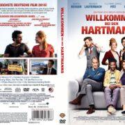 Willkommen bei den Hartmanns (2016) R2 GERMAN Custom DVD Cover
