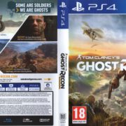 Tom Clancy's Ghost Recon: Wildlands (2017) PAL PS4 Cover & Label