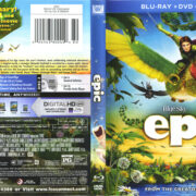 Epic (2013) R1 Blu-Ray Cover & Labels