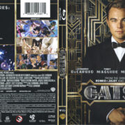 The Great Gatsby (2013) R1 Blu-Ray Cover & Labels
