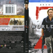 World War Z (2013) R1 Blu-Ray Cover & Labels