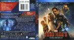 Iron Man 3 (2013) R1 Blu-Ray Cover & Label
