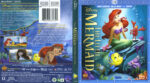 The Little Mermaid (1989) R1 Blu-Ray Cover & Labels