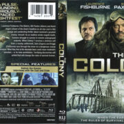 The Colony (2013) R1 Blu-Ray Cover & Label