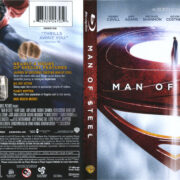 Man Of Steel (2013) R1 Blu-Ray Cover & Labels
