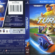 Turbo (2013) R1 Blu-Ray Cover & Labels