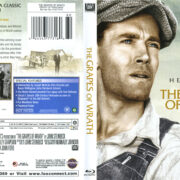 The Grapes Of Wrath (1940) R1 Blu-Ray Cover & Label