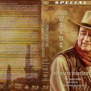 John Wayne Ultimate Western Collection – Volume 9 (1956-1961) R1 Custom Blu-Ray Cover
