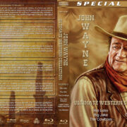 John Wayne Ultimate Western Collection – Volume 11 (1970-1976) R1 Custom Blu-Ray Cover