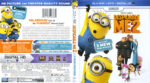 Despicable Me 2 (2013) R1 Blu-Ray Cover & Label