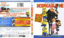 Despicable Me (2010) R1 Blu-Ray Cover & Labels