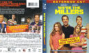 We're The Millers (2013) R1 Blu-Ray Cover & Labels