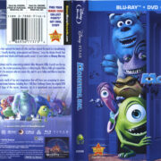 Monsters, Inc. (2001) R1 Blu-Ray Cover & Labels