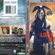 The Lone Ranger (2013) R1 Blu-Ray Cover & Labels