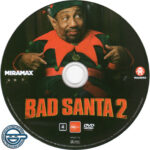 Bad Santa 2 (2016) R4 DVD Label
