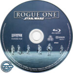 Rogue One: A Star Wars Story (2016) R4 Blu-Ray Label