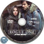 Rogue One: A Star Wars Story (2016) R4 DVD Label