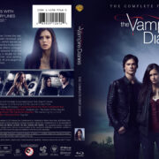 The Vampire Diaries: Season 1 (2009) R1 Custom Blu-Ray Cover