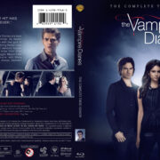 The Vampire Diaries: Season 3 (2011) R1 Custom Blu-Ray Cover