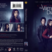 The Vampire Diaries: Season 4 (2012) R1 Custom Blu-Ray Cover