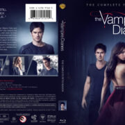 The Vampire Diaries: Season 5 (2013) R1 Custom Blu-Ray Cover