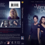 The Vampire Diaries: Season 6 (2014) R1 Custom Blu-Ray Cover