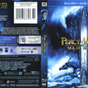 Percy Jackson: Sea Of Monsters (2013) R1 Blu-Ray Cover & Labels