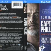 Captain Phillips (2013) R1 Blu-Ray Cover & labels
