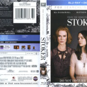 Stoker (2013) R1 Blu-Ray Cover & Label