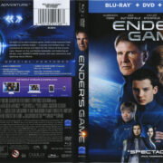 Ender's Game (2013) R1 Blu-Ray Cover & Labels