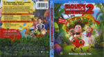 Cloudy With A Chance Of Meatballs 2 (2013) R1 Blu-Ray Cover & Labels