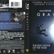 Gravity (2013) R1 Blu-Ray Cover & Labels