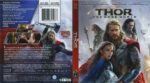 Thor: The Dark World (2013) R1 Blu-Ray Cover & Label