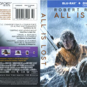 All Is Lost (2013) R1 Blu-Ray Cover & Label