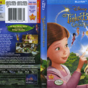 Tinker Bell And The Great Fairy Rescue (2010) R1 Blu-Ray Cover & Labels