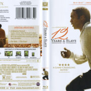 12 Years A Slave (2013) R1 Blu-Ray Cover & Label