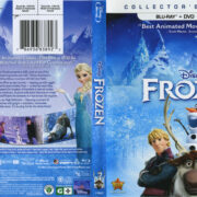 Frozen (2013) R1 Blu-Ray Cover & Labels