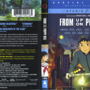 From Up On Poppy Hill (2011) R1 Blu-Ray Cover & Labels