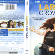 Larry Crowne (2011) R1 Blu-Ray Cover & Label