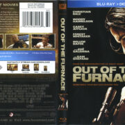 Out Of The Furnace (2013) R1 Blu-Ray Cover & Label