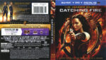 The Hunger Games: Catching Fire (2013) R1 Blu-Ray Cover & Labels