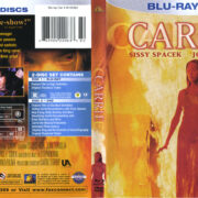 Carrie (1976) R1 Blu-Ray Cover & Labels